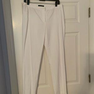 Eli's Tahari white pants